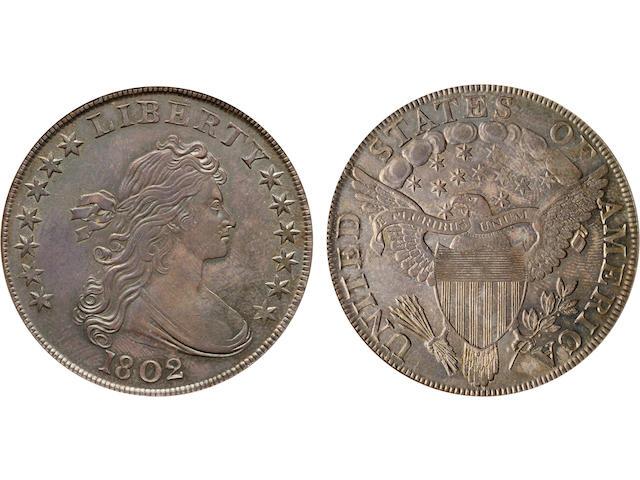 1802 $1 MS64 NGC