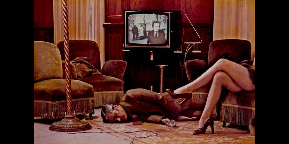 Helmut Newton (1920-2004); T.V. Murder, Cannes (Unique Version);