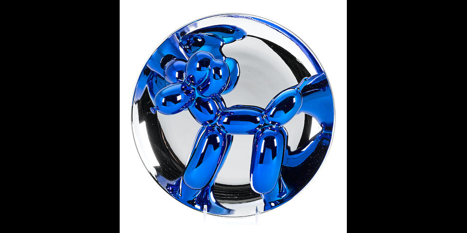 Jeff Koons (born 1955); Balloon Dog - Blue;