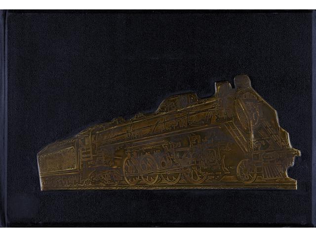 TROSHIN, NIKOLAI STEPANOVICH. 1897-1990. O Zheleznodorozhnom transporte SSSR  [About Railway Transport in the USSR].  Moscow: Transzheldorizdat, 1935.