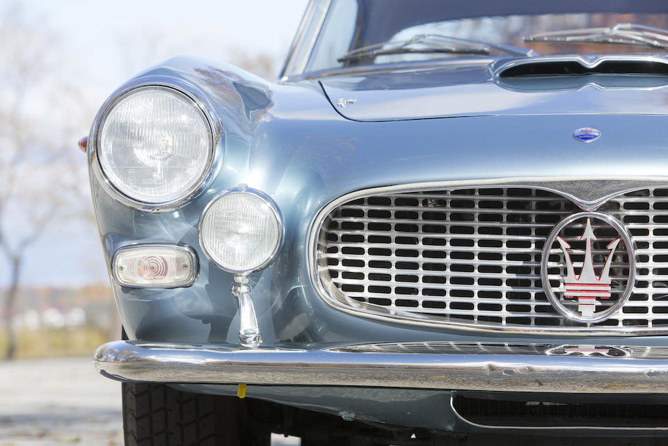 1962 Maserati 3500GTi Coupe  Chassis no. AM101.2524 Engine no. AM101.2524