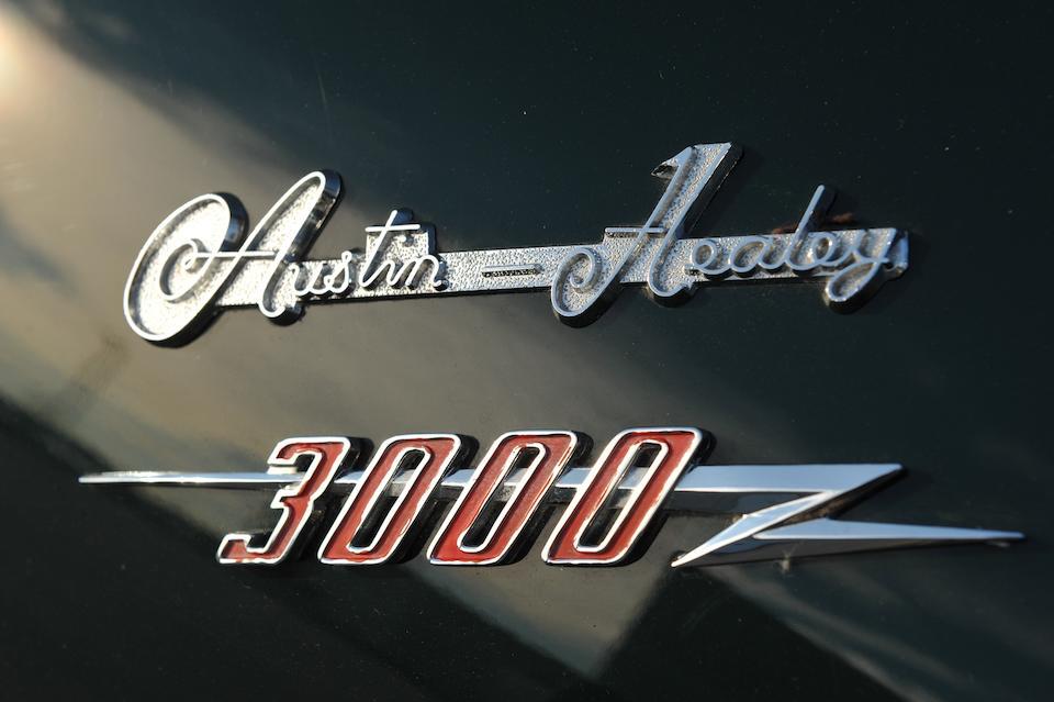 1960 AUSTIN-HEALEY 3000 MK I BT7  Chassis no. HBT7L 9299