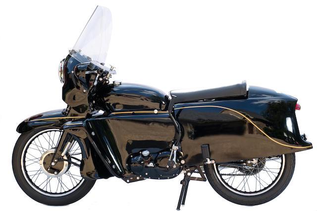 Development machine and Earl's Court showbike,1954 Vincent Black Prince Prototype Engine no. F10AB/1B/10593