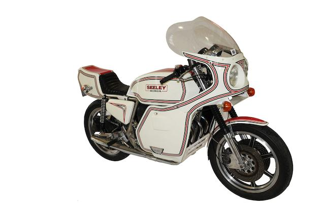 Bonhams : Less than 200 built,1977 Seeley-Honda CB750 Frame no ...