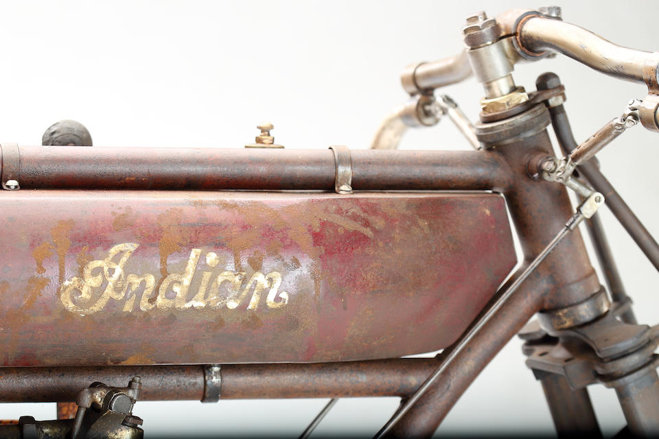1912 Indian Twin Boardtrack Racer Engine no. 70D899