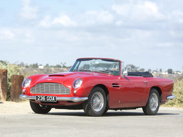 1964 Aston Martin DB5 Convertible  Chassis no. DB5C/1295/R Engine no. 400/1560