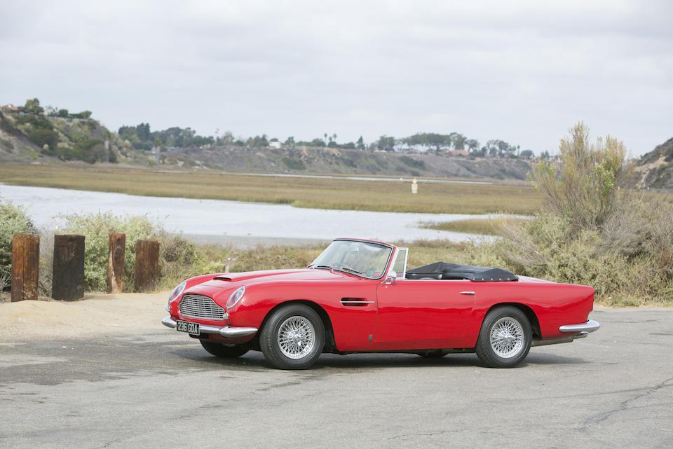 1964 Aston Martin DB5 Convertible  Chassis no. DB5C/1295/R Engine no. 400/1560