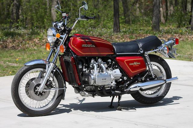 Bonhams : 1976 Honda GL1000 Gold Wing Frame no. GL1-2011650 Engine ...