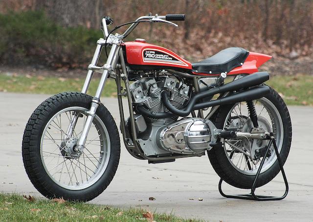 Evel Knievel Bike At Bonham S Las Vegas Moto Auction: Bonhams : 1975 Harley-Davidson XR-750 Flat Tracker Engine