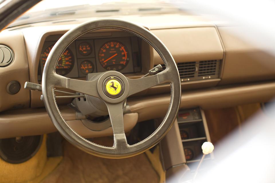 1990 Ferrari Testarossa  Chassis no. ZFFSG17A8L0083742 Engine no. A04018159