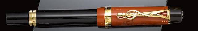 MONTBLANC: Johann Sebastian Bach Special Edition Donation Fountain Pen