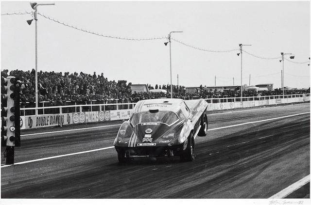 Robert Carter: Corvette, 24 x 36 ins.