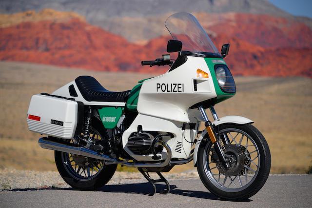 1984 BMW R100RT Frame no. WB1044905E6243755 Engine no. 83 378236/EBM 098042 42