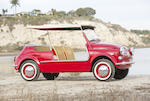1959 Fiat 500 Jolly  Chassis no. 031343 Engine no. 110.000.034283