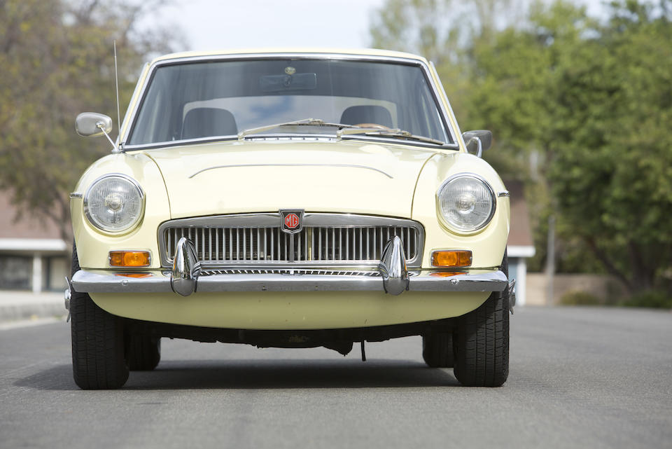 Bonhams : 1969 MGC GT Coupe Chassis no  GCD1U/8209G Engine