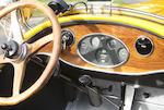 Ex-Stanford Block,1926 Kissel 6-55 Gold Bug Speedster  Chassis no. 5513231 Engine no. 55-13294