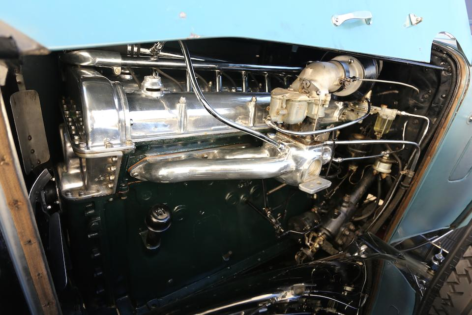 <i>The ex-Dr. Frederick A. Simeone, William Ruger Sr.</i><br /><b>1932 STUTZ DV-32 SUPER BEARCAT  </b><br />Chassis no. DV-SB-1486 <br />Engine no. DV33194