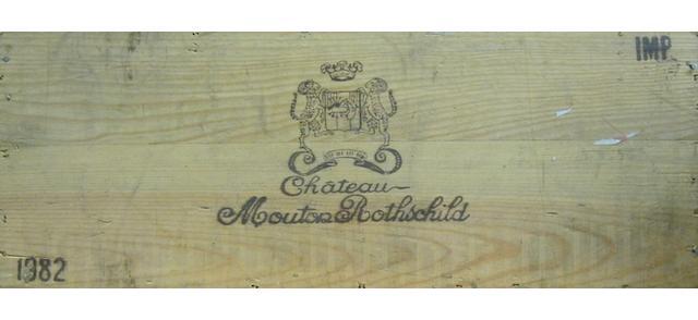 Château Mouton Rothschild 1982 (6L)