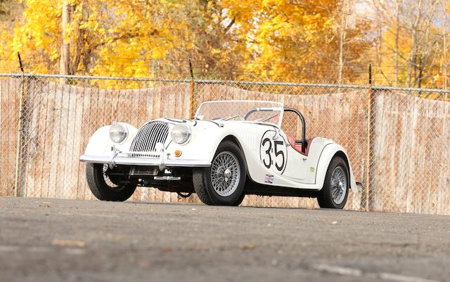 <i>From the Estate of George Fink</i><br /><b>1963 MORGAN PLUS FOUR 'LOW LINE' SUPER SPORTS TWO SEATER  </b><br />Chassis no. 5322 <br />Engine no. TS 39461E