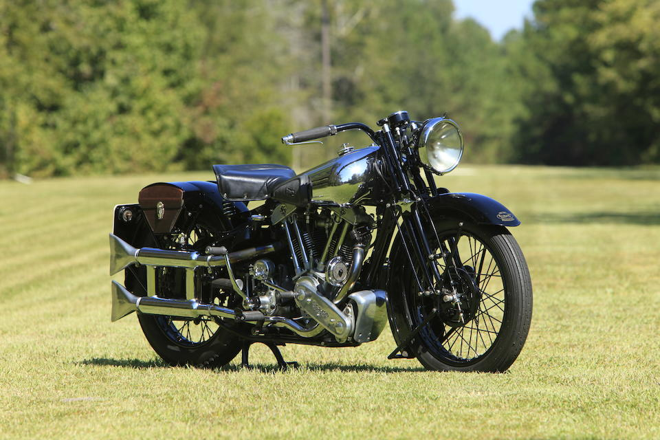 Multiple Concours 'Best of Show' Winner, incl. Meadowbrook, Amelia Island, Hilton Head,1938 Brough Superior SS100 Frame no. 1935Gearbox No. IN 24583 Engine no. BSX-1031