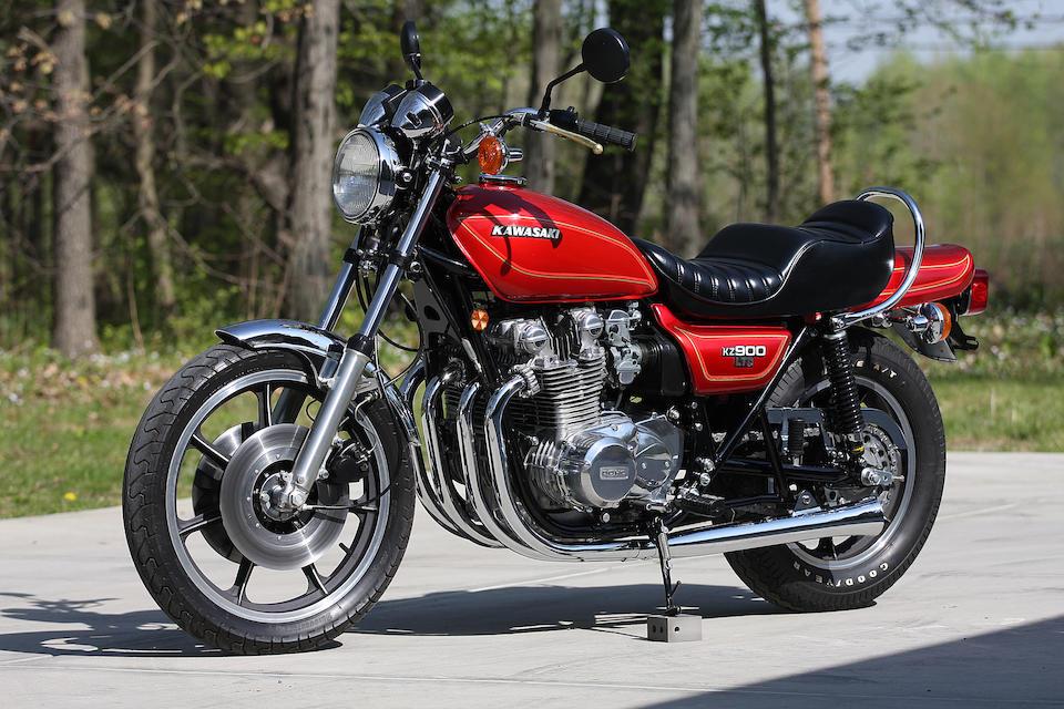1976 Kawasaki KZ900 LTD Frame no. KZ900B-503488 Engine no. Z1E118011