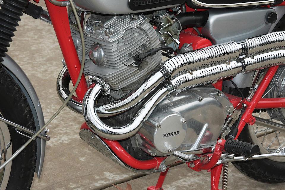 Honda San Bruno >> Bonhams : 1967 Honda CL77 305cc Scrambler Frame no. CL77
