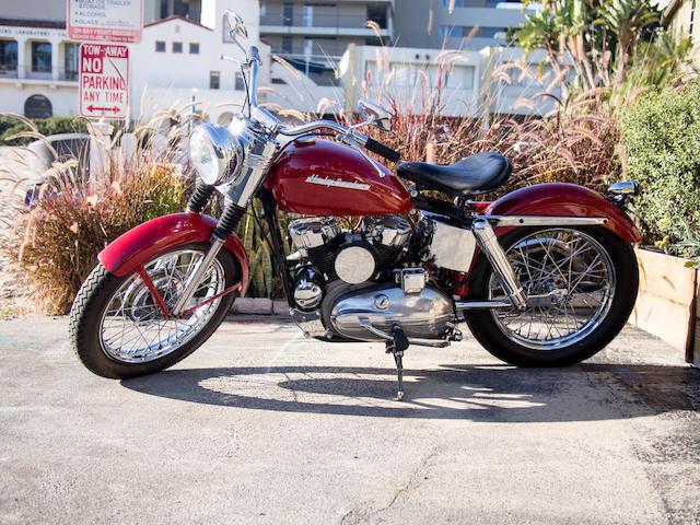 Bonhams : 1953 Harley-Davidson K-Model Frame no. 53K1956 Engine no