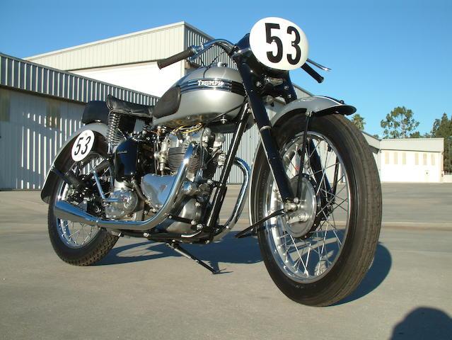 1953 Triumph Tiger T100 Frame no. 35987 Engine no. T100 35987