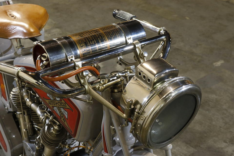 1916 Excelsior 61ci Big X Engine no. 86652