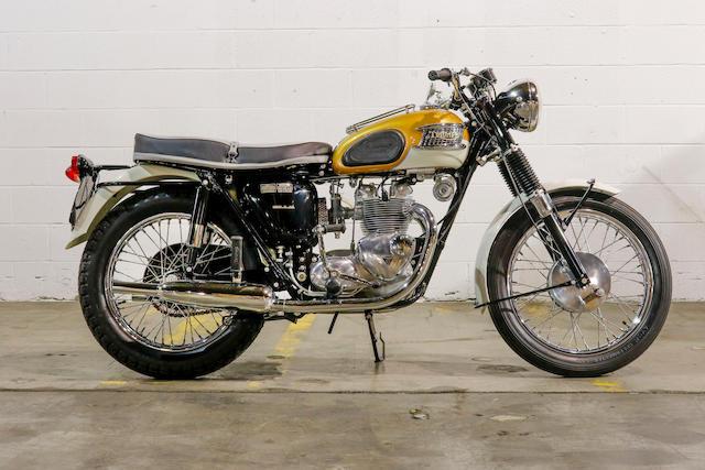 1965 Triumph 490cc Tiger T100SR Frame no. T100SRH37228 Engine no. T100SRH37228