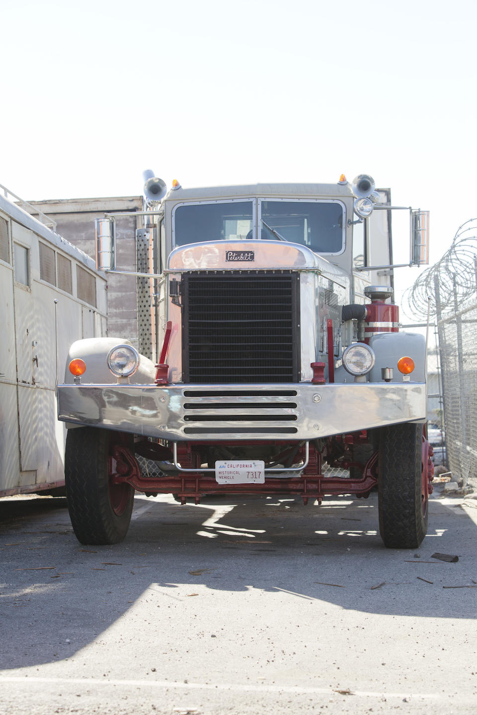 Offered from the William M. Keck Estate, 1948 Peterbilt  Chassis no. 601275