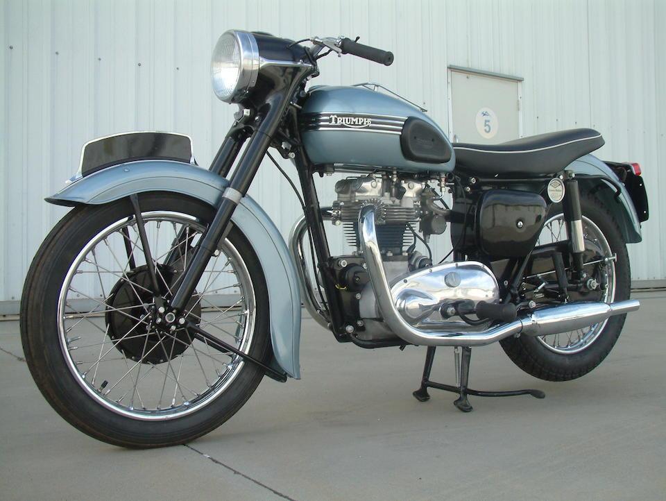 1955 Triumph Tiger T110 Frame no. 69676 Engine no. T110 69676