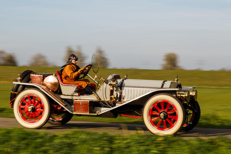 <i>Ex-Craven Foundation Car Collection,<br />The largest engine ever fitted to an American production car</i><br /><b>1912 PEERLESS MODEL 60 RUNABOUT  </b><br />Engine no. 12970