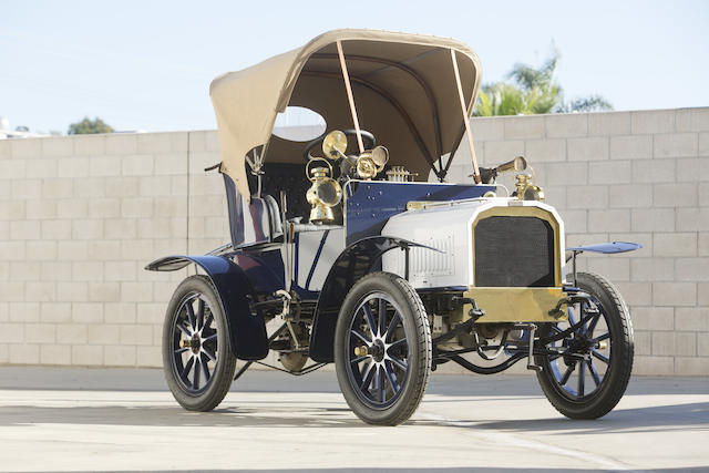 1904 Humber 8.5HP Twin-Cylinder Two Seater  Chassis no. 2411 Engine no. B5413