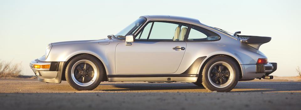 Bonhams 1987 Porsche 930 Turbo Coupe Chassis No