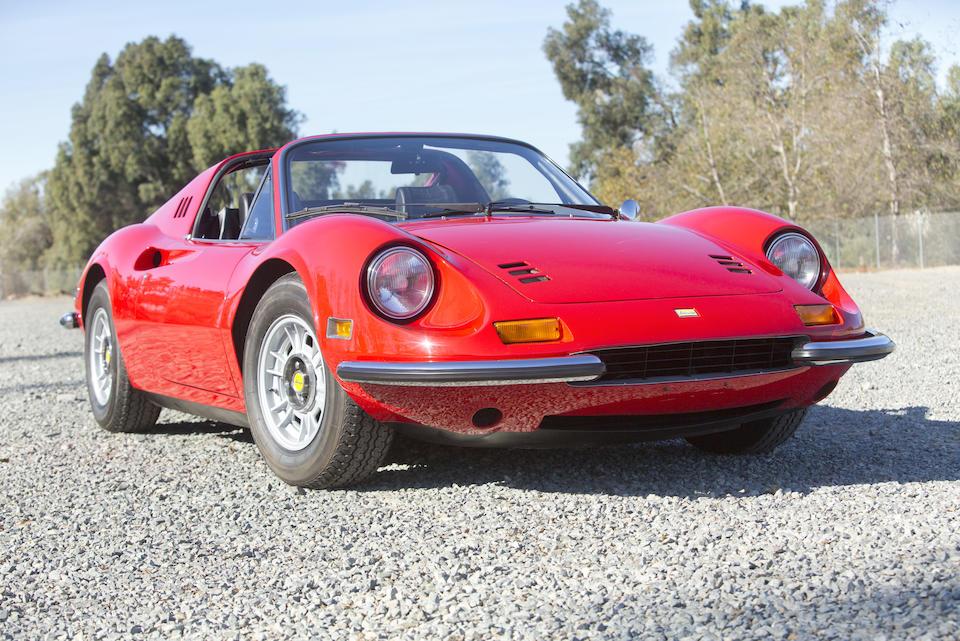 1972 Ferrari Dino 246 GTS  Chassis no. 04870