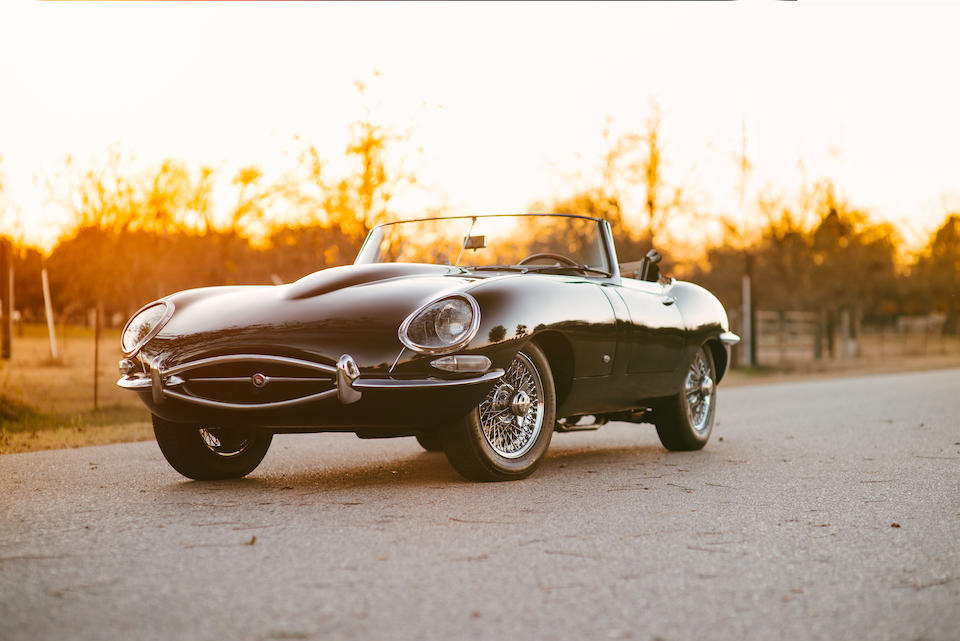 1961 Jaguar E-Type Series 1 3.8 Roadster  Chassis no. 875246 Engine no. R1372-9