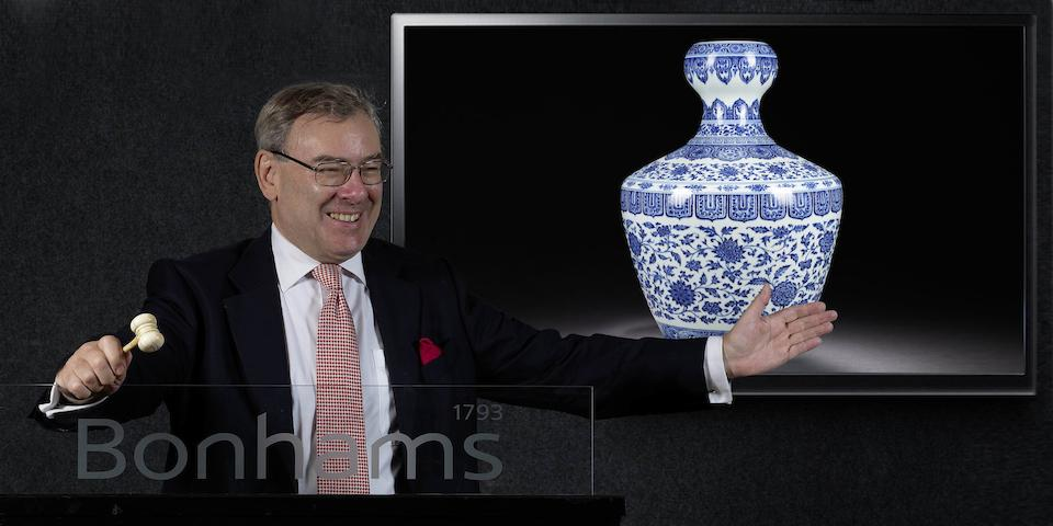 Chinese Vase Sets New Record: Finest Porcelain of the Unrivalled Yongzheng Era