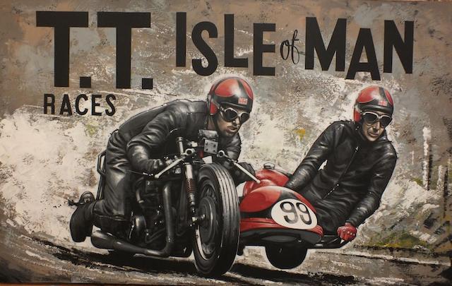 "Tony Upson: ""T.T. Isle of Man races"","