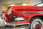 1958 Edsel Citation Convertible  Chassis no. X8WY700406
