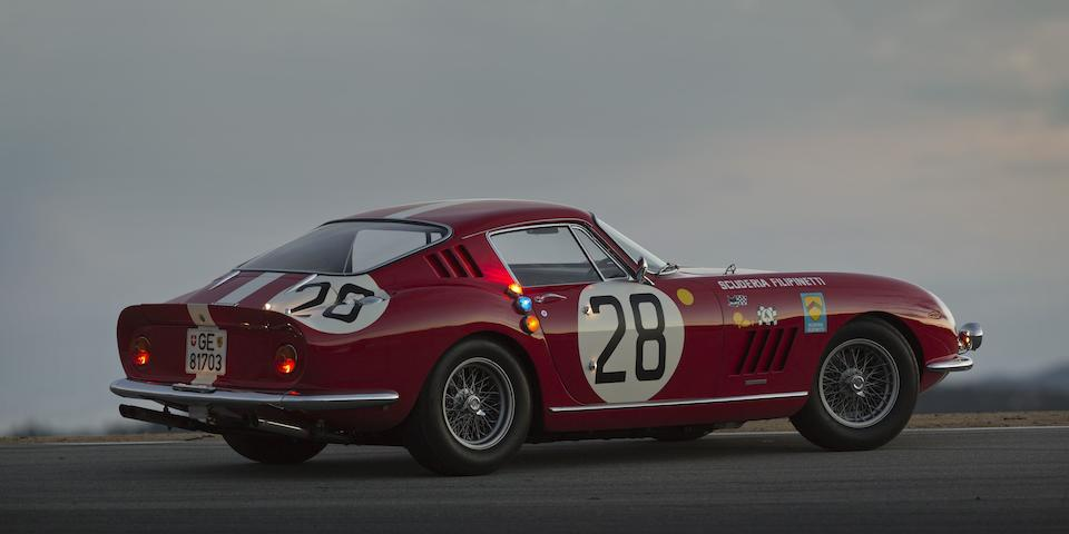 The 24 Hour Champion: Le Mans Winning Ferrari 275 Gran Turismo Berlinetta at the Scottsdale Auction