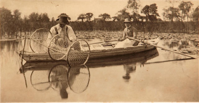 Peter Henry Emerson (British, 1856-1936); Setting the Bow-Net, pl. II, from Life and Landscape on the Norfolk Broads;