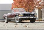 1968 Mercedes-Benz 280SL  Chassis no. 113.044.12.006542