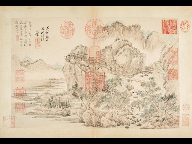 Wang Hui (1632-1717) Album of Landscapes