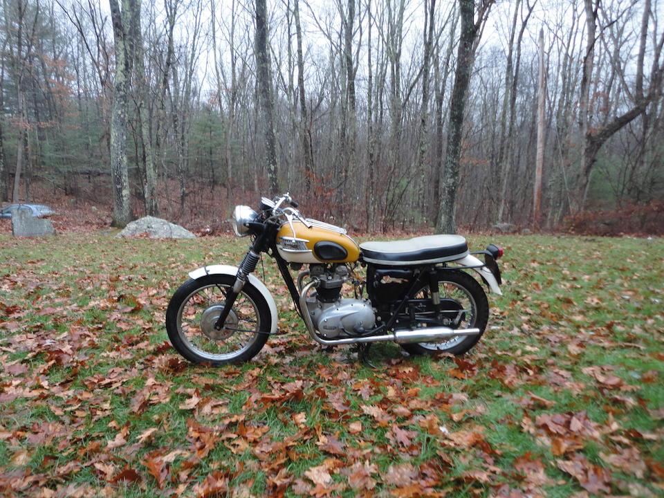 1965 Triumph TR6 Trophy Frame no. TR6 DU17240 Engine no. TR6 DU17240