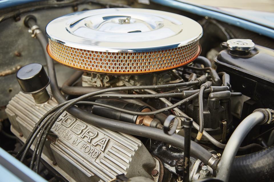 1964 Shelby Cobra 289  Chassis no. CSX2570 Engine no. 00034