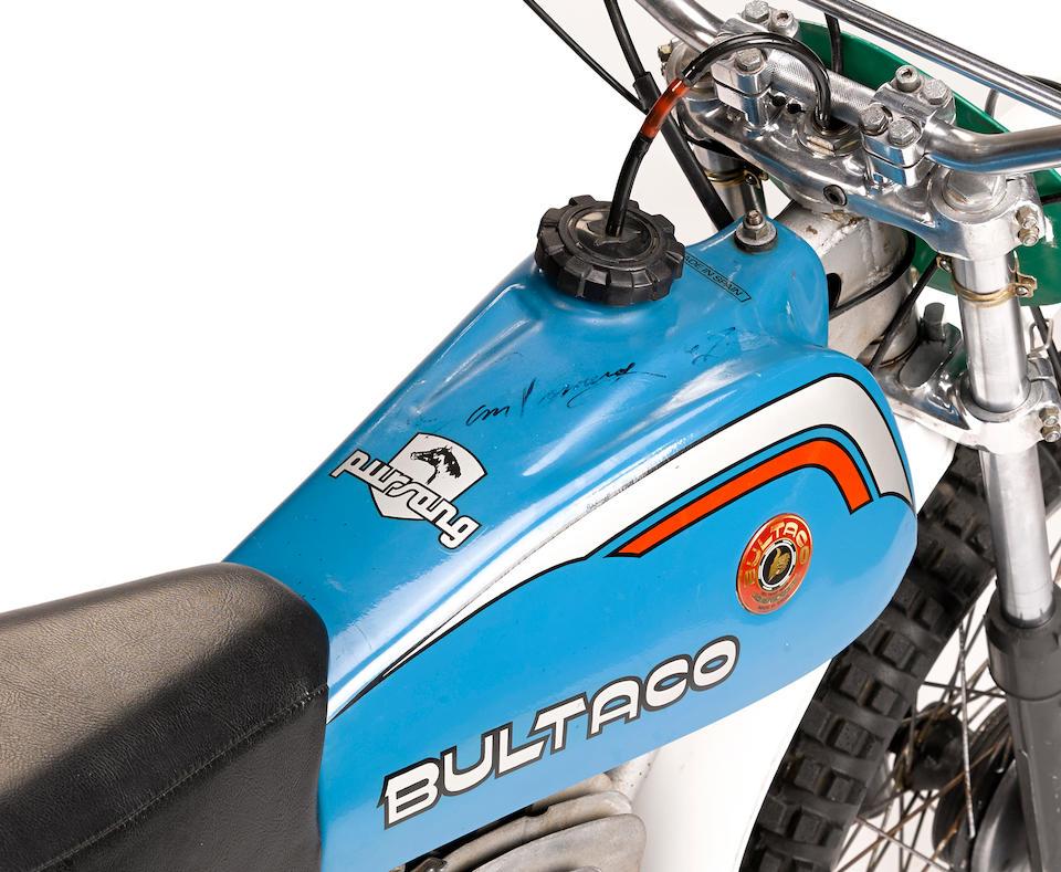 1977 Bultaco Pursang 250 Mk10 Frame no. PB19200832