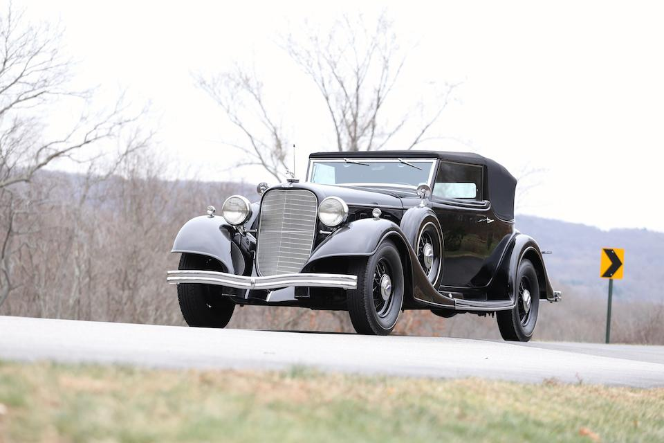 In single ownership for nearly eight decades ,1934 Lincoln  KB Convertible Victoria  Chassis no. KB 3375 Engine no. KB 3375
