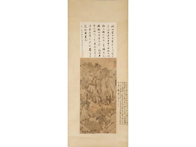 Wen Zhengming (1470-1559) Longqiu tu