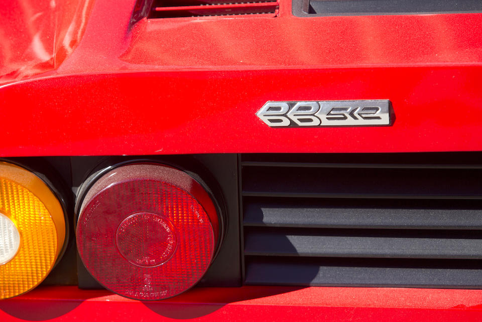 <i>Offered from the William M. Keck Estate</i><br /><b>1980 FERRARI 512 BB  <br /></b>Chassis no. 34249 <br />Engine no. 00755